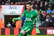 Hugo Lloris (1) of Tottenham Hotspur during the Premier League match between Bournemouth and Tottenham Hotspur at the Vitality Stadium, Bournemouth, England on 11 March 2018. Picture by Graham Hunt.