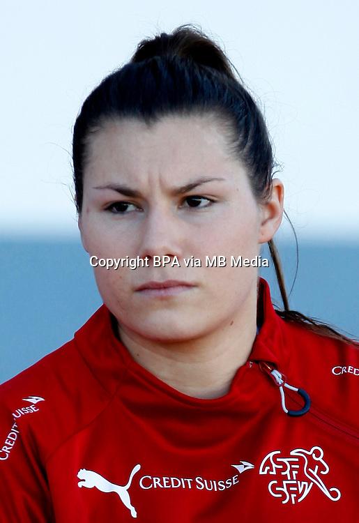Fifa Womans World Cup Canada 2015 - Preview //<br /> Algarve Cup 2015 Tournament ( Vila Real San Antonio Sport Complex - Portugal ) - <br /> Usa vs Switzerland 3-0 , Ramona Bachmann  of Switzerland