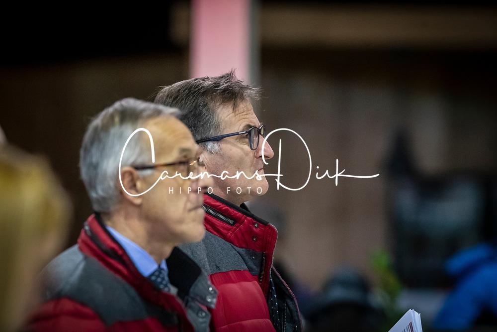 Keurinscommissie dressuur, De Waele Jean Pierre<br /> BWP Hengsten Keuring - Lier 2020<br /> © Hippo Foto - Dirk Caremans<br /> 16/01/2020