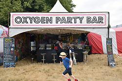 Latitude Festival, Henham Park, Suffolk, UK July 2018. Oxygen bar