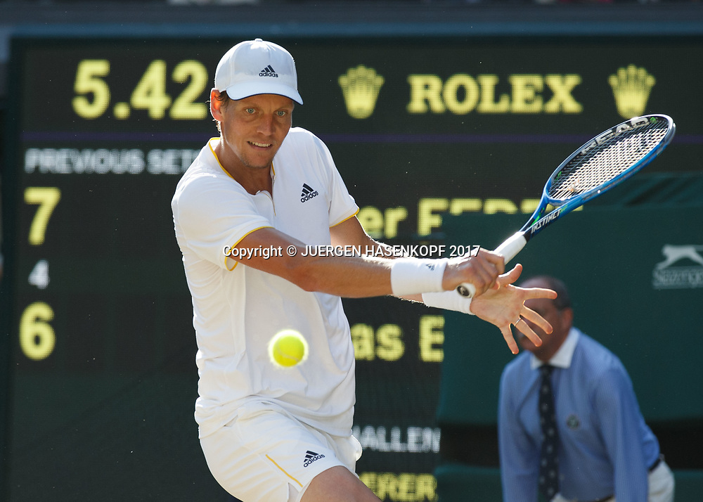 TOMAS BERDYCH (CZE)<br /> <br /> Tennis - Wimbledon 2017 - Grand Slam ITF / ATP / WTA -  AELTC - London -  - Great Britain  - 14 July 2017.