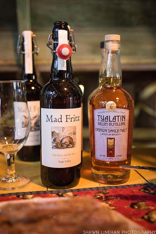 Mad Fritz and Tualatin Valley Distilling Oregon Single Malt uses Mecca Grade malt