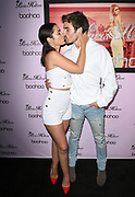 Ashley Iaconetti and Jared Haibon arrive at the Paris Hilton 'Boohoo' Clothing official launch party on June 20, 2018 at Delilah in West Hollywood, California (Photo: Charlie Steffens)