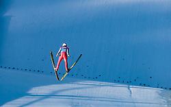 31.12.2017, Olympiaschanze, Garmisch Partenkirchen, GER, FIS Weltcup Ski Sprung, Vierschanzentournee, Garmisch Partenkirchen, Qualifikation, im Bild Stefan Kraft (AUT) // Stefan Kraft of Austria during his Qualification Jump for the Four Hills Tournament of FIS Ski Jumping World Cup at the Olympiaschanze in Garmisch Partenkirchen, Germany on 2017/12/31. EXPA Pictures © 2018, PhotoCredit: EXPA/ JFK
