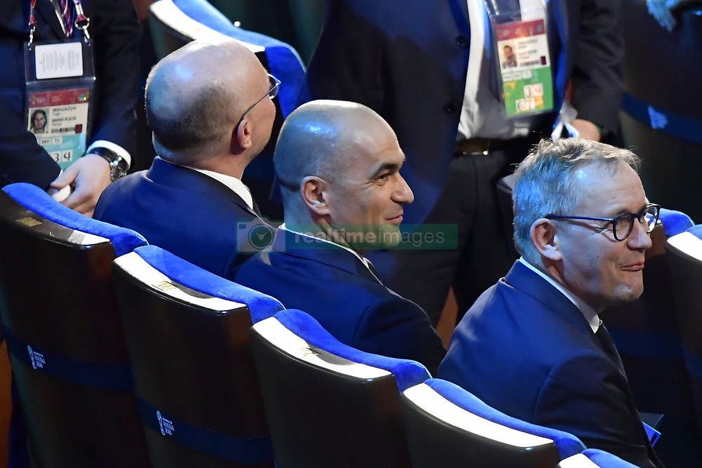 December 1, 2017 - Moscou, Russie - MOSCOW, RUSSIA - DECEMBER 1 : Roberto Martinez head coach of Belgian Team pictured during the FIFA World Cup Russia 2018 Final Draw in the State Kremlin Palace on December 01, 2017 in Moscow, Russia, 1/12/2017 (Credit Image: © Panoramic via ZUMA Press)