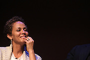 May 7, 2012- New York, NY United States: - Actress Nicole Ari Parker attends the Theater Talks at the Schomburg: A Streetcar Named Desire held at the Schomburg Center for Research in Black Culture, part of the New York Public Library on May 7, 2012 in Harlem Village, New York City. The Schomburg Center for Research in Black Culture, a research unit of The New York Public Library, is generally recognized as one of the leading institutions of its kind in the world. For over 80 years the Center has collected, preserved, and provided access to materials documenting black life, and promoted the study and interpretation of the history and culture of peoples of African descent. (Photo by Terrence Jennings) .