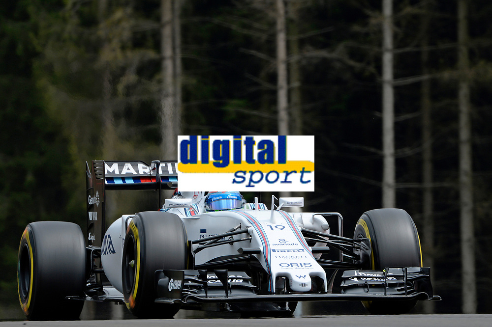 MASSA felipe (bra) williams f1 mercedes fw37 action during the 2015 Formula One World Championship, Grand Prix of Austria from june 18 to 22nd 2015,  in Spielberg, Austria. Photo Eric Vargiolu / DPPI