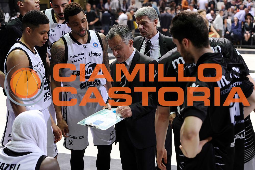 DESCRIZIONE : Bologna Lega A 2014-15 Granarolo Bologna Acea Roma<br /> GIOCATORE : Giorgio Valli<br /> CATEGORIA : allenatore timeout<br /> SQUADRA : Granarolo Bologna<br /> EVENTO : Campionato Lega A 2014-15<br /> GARA : Granarolo Bologna Acea Roma<br /> DATA : 03/05/2015<br /> SPORT : Pallacanestro <br /> AUTORE : Agenzia Ciamillo-Castoria/M.Marchi<br /> Galleria : Lega Basket A 2014-2015 <br /> Fotonotizia : Bologna Lega A 2014-15 Granarolo Bologna Acea Roma