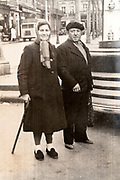senior couple France ca 1940s