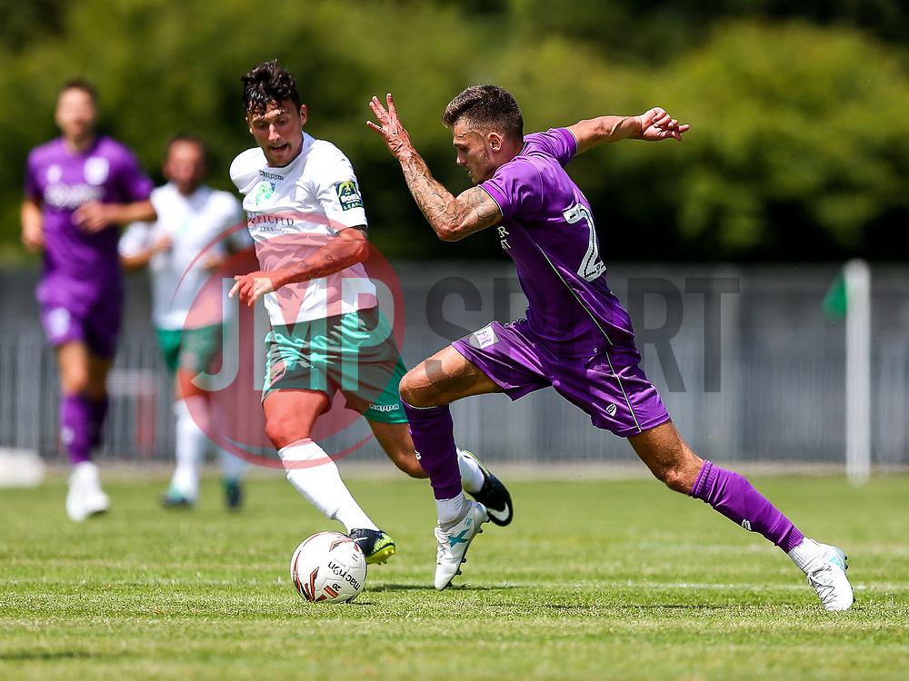 Jamie Paterson of Bristol City in action - Rogan/JMP - 08/07/2017 - Footes Lane - Guernsey - Guernsey FC v Bristol City - Pre-season Friendly.
