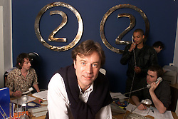 Portraits of Chris Villiers, chris runs  a company that supplies movie extras the company is called 20/20 Production, June 9, 2000. Photo by Andrew Parsons / i-images..