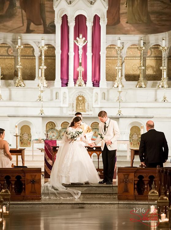 James & Addy Wedding Photography Samples   Audubon Cottages, St. Joseph Catholic Church, The Jaxson   1216 Studio Wedding Photography