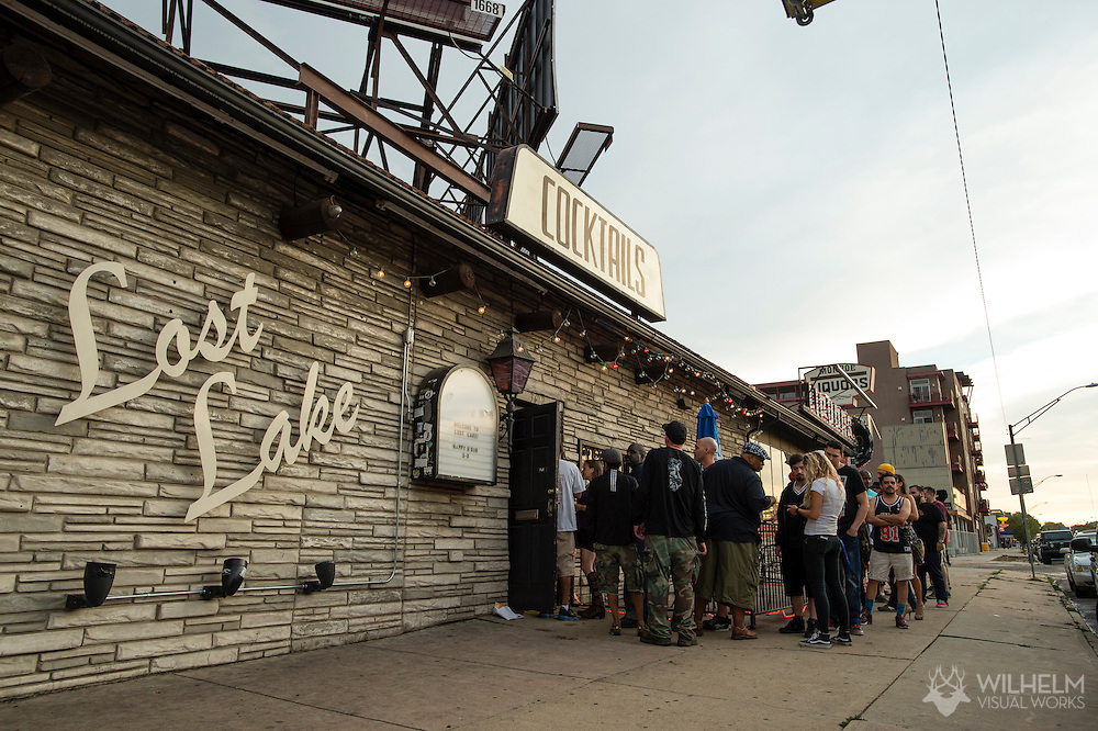 The venue for Red Bull Sound Select Presents Denver at Lost Lake Lounge in Denver, CO, USA, on 25 June, 2015.