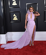 February 12, 2017 , Los Angeles, USA. 59EME GRAMMY AWARDS 2017, Jennifer Lopez @ the 59th Annual GRAMMY Awards held @ the Microsoft Theatre. <br /> ©Exclusivepix Media