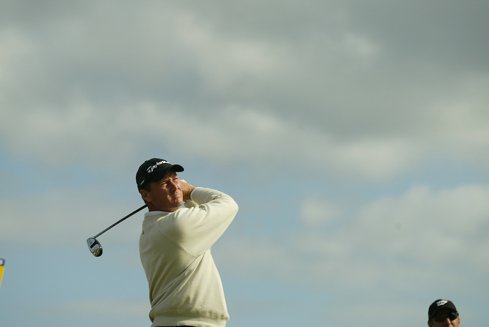 Todd Hamilton..2004 Open Championship.( British Open ).Royal Troon GC.Troon, Scotland UK.Third Round.Saturday, July 17 2004..photograph by Darren Carroll