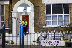 © Licensed to London News Pictures . 09/10/2012 . Altrincham , UK . General view GV of the house on 1 Woodlands Road , Altrincham , Cheshire . Police arrested Jimmy Savile's former chauffeur , Ray Teret , and housemate Alan Ledger , yesterday (8th November) over historic child rape allegations . Photo credit : Joel Goodman/LNP