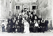 group family portrait from around late 1930s France