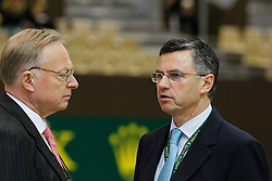 Holmberg Sven (SWE), Becker Otto (GER)<br /> Rolex FEI World Cup Final - Geneve 2010<br /> © Dirk Caremans