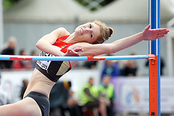 12.07.2015, Kadriorg Stadion, Tallinn, EST, U23 Leichtathletik EM, Tallinn, im Bild Imke Onnen (GER) // Imke Onnen (GER) competing during the High Jump U23 Championships at the Kadriorg Stadion in Tallinn, Estland on 2015/07/12. EXPA Pictures © 2015, PhotoCredit: EXPA/ Eibner-Pressefoto/ Fusswinkel<br /> <br /> *****ATTENTION - OUT of GER*****