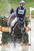 Tarastro ridden by Regis Prud Hon in the Equi-Trek CCI-L4* Cross Country during the Bramham International Horse Trials 2019 at Bramham Park, Bramham, United Kingdom on 8 June 2019.