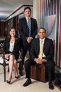Equipo de trabajo de BG Valores, Banco General, Panama.<br /> &nbsp; Rolando Arias Carlos Samaniego, Marjorie Arguello