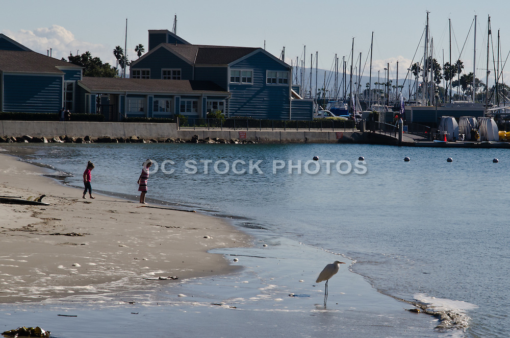 Baby Beach in the Dana Point Harbor