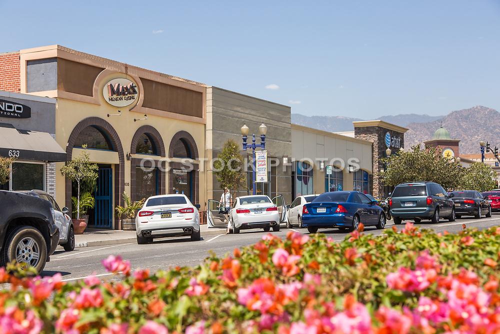 Shops of Downtown Azusa on Azusa Ave