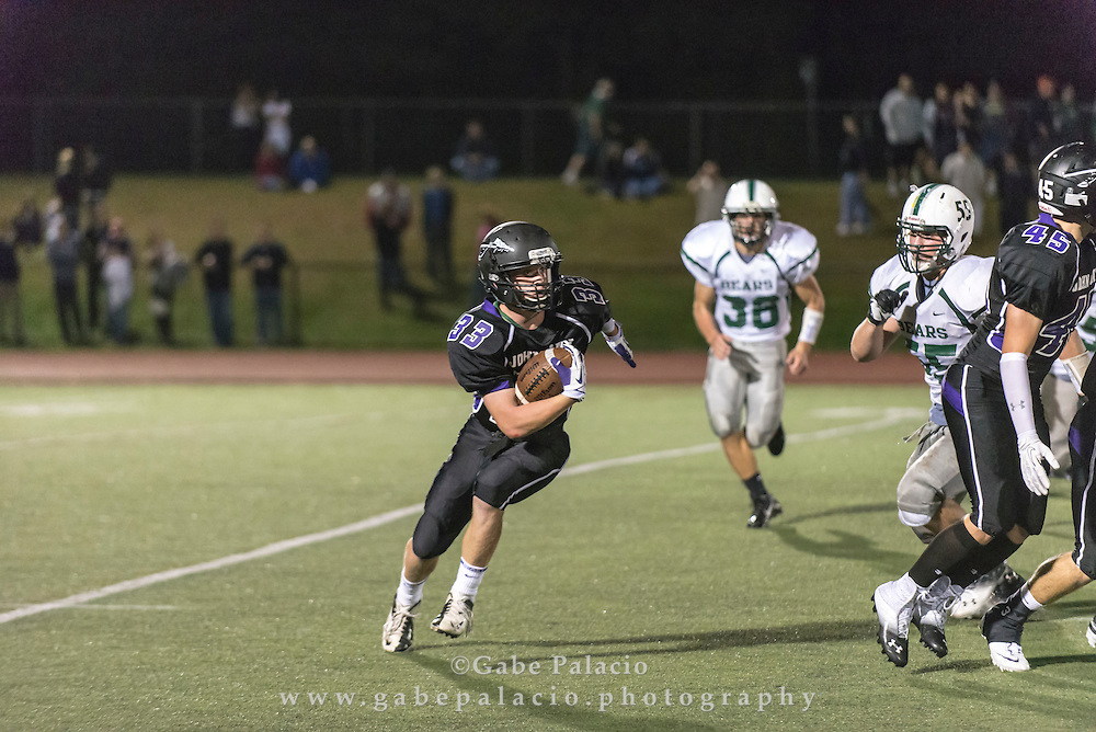 John Jay Varsity Football game vs. Brewsters on September 21, 2013.(photo by Gabe Palacio)