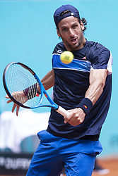 May 9, 2018 - Madrid, Spain - Spanish Feliciano Lopez during Mutua Madrid Open 2018 at Caja Magica in Madrid, Spain. May 09, 2018. (Credit Image: © Coolmedia/NurPhoto via ZUMA Press)
