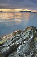 Sunset at Clayton Beach, Larrabee State Park Washington