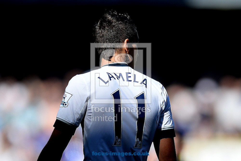 Erik Lamela of Tottenham Hotspur during the Barclays Premier League match between Tottenham Hotspur and Crystal Palace at White Hart Lane, London<br /> Picture by Richard Blaxall/Focus Images Ltd +44 7853 364624<br /> 20/09/2015