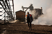 Chief of Zenica foundry<br /> <br /> Arcelor Mittal. <br /> <br /> Matt Lutton / Boreal Collective for the Financial Times.