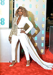 February 11, 2019 - London, New York, United Kingdom of Great Britain and Northern Ireland - Mary J Blige arriving at the EE British Academy Film Awards on at the Royal Albert Hall on February 10 2019 in London, England  (Credit Image: © Famous/Ace Pictures via ZUMA Press)