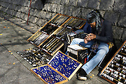 Kyoto, Japan, Street vendor