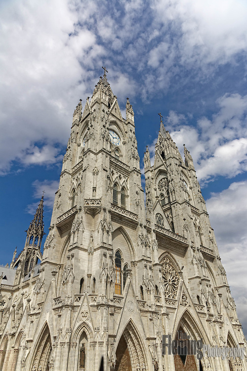 The Basílica del Voto Nacional is the largest neo-Gothic basilica in the Americas