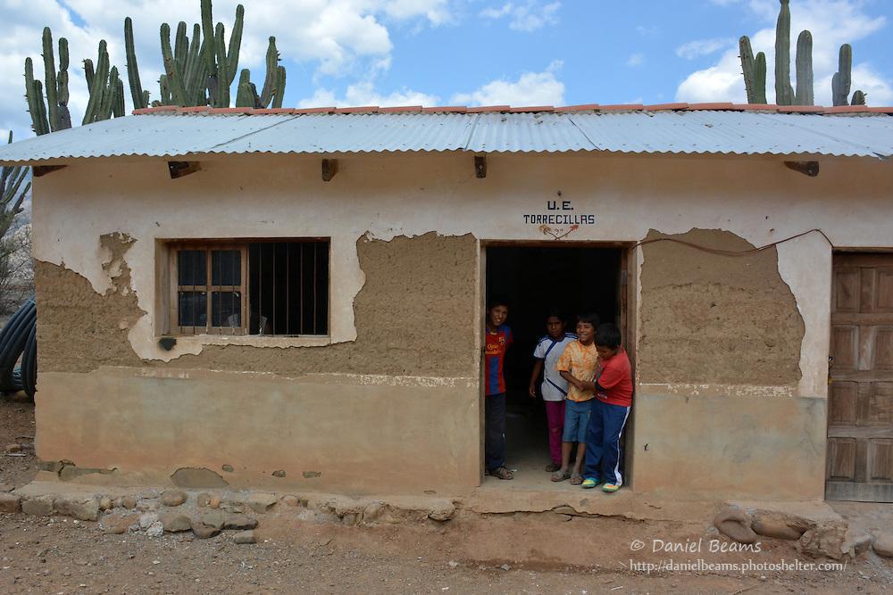 School in Torrecillo, Santa Cruz, Bolivia