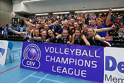 20171021 BEL: Champions League, Asterix Avo Beveren - Sliedrecht Sport: Oostakker<br />Sliedrecht Sport plaatst zich voor de volgende ronde Champions League<br />&copy;2017-FotoHoogendoorn.nl / Pim Waslander