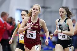 1000, BC, Shannon Ahern<br /> Boston University Athletics<br /> Hemery Invitational Indoor Track & Field