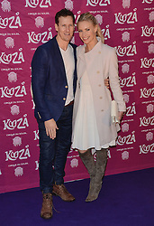 Brendon Cole and Zoe Hobbs attend  Cirque Du Soleil Kooza Press Night at The Royal Albert Hall, Kensington Gore, London on Tuesday 6 January 2015