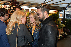 CAGGIE DUNLOP, LAUREN HUTTON and SPENCER MATTHEWS at a party to celebrate the launch of the Taylor Morris Eyewear's Summer Collection held at The Chelsea Gardner, 125 Sydney Street, London on 20th May 2015.