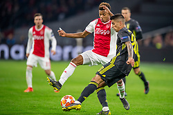 10-04-2019 NED: Champions League AFC Ajax - Juventus,  Amsterdam<br /> Round of 8, 1st leg / Ajax plays the first match 1-1 against Juventus during the UEFA Champions League first leg quarter-final football match / Joao Cancelo #20 of Juventus, David Neres #7 of Ajax