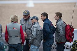 Van Lent Jeroen, BEL, Janssens Sjef, NED, Devroe Jeroen, BEL<br /> FEI European Dressage Championships - Goteborg 2017 <br /> © Hippo Foto - Dirk Caremans