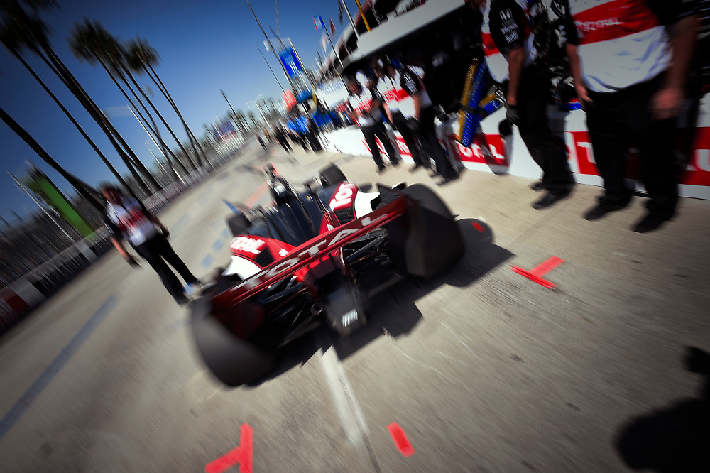Graham Rahal, Rahal Letterman Lanigan Racing Honda<br /> Friday 13 April 2018<br /> Toyota Grand Prix of Long Beach<br /> Verizon IndyCar Series<br /> Streets of Long Beach, California USA<br /> World Copyright: Scott R LePage<br /> LAT Images