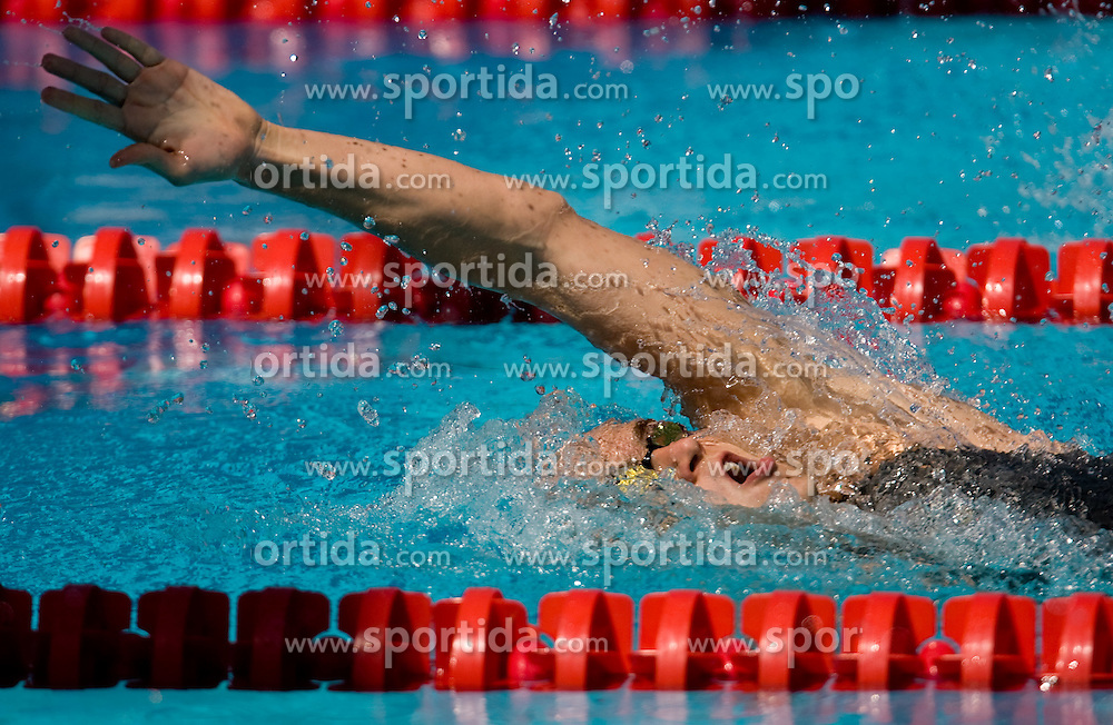 Laszlo Cseh of Hungary competes during the Men's 200m Individual Medley Heats during the 13th FINA World Championships Roma 2009, on July 29, 2009, at the Stadio del Nuoto,  in Foro Italico, Rome, Italy. (Photo by Vid Ponikvar / Sportida)