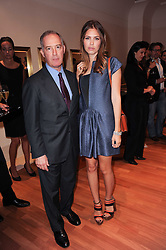 DASHA ZHUKOVA and FRANCESCO TRAPANI CEO Bulgari at a party to celebrate the B.zero 1 design by Anish Kapoor held at Bulgari, 168 New Bond Street, London n 2nd June 2010.