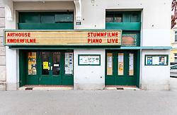 THEMENBILD - Die Breitenseer Lichtspiele, auch Breitenseer Kino genannt, sind ein Ladenkino im Wiener Stadtteil Breitensee. Es ist eines der ältesten noch immer bespielten Kinos der Welt. Im Bild das Kino, aufgenommen am 18. November 2018, Wien, Österreich // The Breitenseer Lichtspiele are a cinema in Viennese district Breitensee. It is one of the oldest cinemas of the world. Vienna, Austria on 2018/11/18. EXPA Pictures © 2018, PhotoCredit: EXPA/ Sebastian Pucher