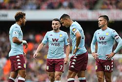 John McGinn of Aston Villa beofre taking a free kick - Mandatory by-line: Arron Gent/JMP - 22/09/2019 - FOOTBALL - Emirates Stadium - London, England - Arsenal v Aston Villa - Premier League