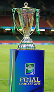 The Heineken Cup pictured during training ahead of the Heineken Cup Final at the Millennium Stadium, Cardiff<br /> Picture by Michael Whitefoot/Focus Images Ltd 07969 898192<br /> 24/05/2014