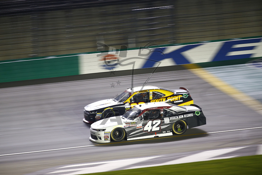September 23, 2017 - Sparta, Kentucky, USA: Tyler Reddick (42) battles for position during the VisitMyrtleBeach.com 300 at Kentucky Speedway in Sparta, Kentucky.