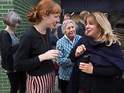 chloe dewe mathews,  marketa luskakova, karen knorr, Sensation Opening. Royal Academy of Art. London.16 September 1997.